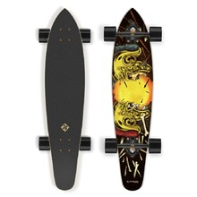 Longboard Street Surfing Kicktail – Spartans 36""
