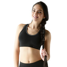 Padded Sports Bra ECO Bamboo Sport - Black