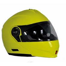 Motorcycle Helmet Ozone FP-01 - Fluo Yellow