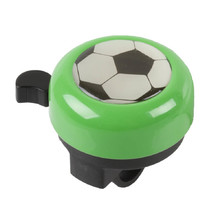 Children's bell 3D - Green with a Ball
