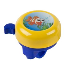 Children's bell 3D - Yellow with a Fish