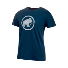 Men's Sports T-Shirt MAMMUT Logo - Peacoat