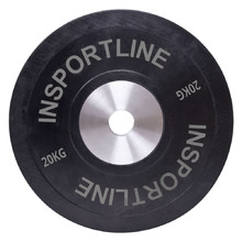 Rubber Weight Plate inSPORTline Bumper Plate 20 kg