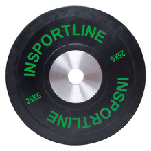Rubber Weight Plate inSPORTline Bumper Plate 25 kg