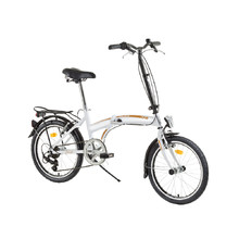 "Folding bike DHS 2095 Folder 20"" - model 2015 - White-Orange"