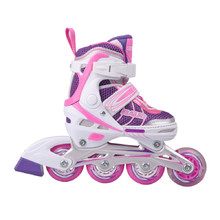 Children's Inline Skates Baud BD211 with shining wheels
