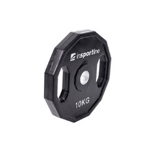 Rubber Coated Weight Plate inSPORTline Ruberton 10kg