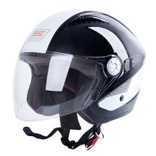 Motorcycle Helmet ORIGINE V529 - Black-White