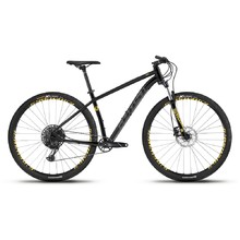 "Mountain Bike Ghost Kato 8.9 AL U 29"" – 2019 - Night Black / Titanium Grey / Spectra Yellow"