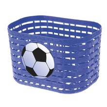 Children's Front Plastic Bike Basket - Blue