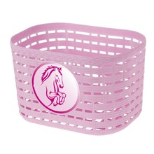 Children's Front Plastic Bike Basket - Pink