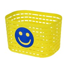 Children's Front Plastic Bike Basket - Yellow