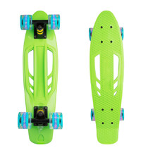 Pennyboard WORKER Bony 22ʺ W/ Light Up Wheels - Green