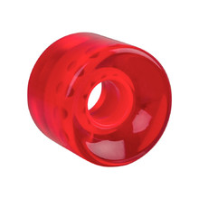 Penny Board Clear Wheel 60*45mm - Red