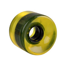 Penny Board Clear Wheel 60*45mm - Yellow