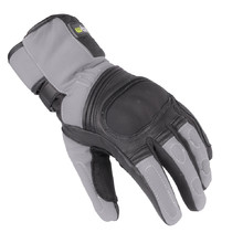 Winter Leather/Textile Moto Gloves W-TEC NF-4004