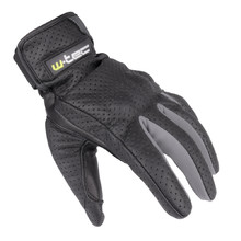 Summer Leather Moto Gloves W-TEC Nyarra NF-4150 - Grey