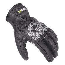 Women's Leather Moto Gloves W-TEC Polcique NF-4206