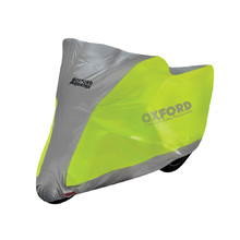 Motorcycle Cover Oxford Aquatex Fluo M