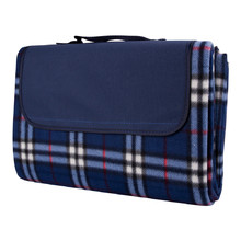 Picnic Blanket inSPORTline 130 x 180cm - Chequered Blue