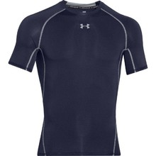 Men's Compression T-Shirt Under Armour HG Armour SS - Midnight Navy