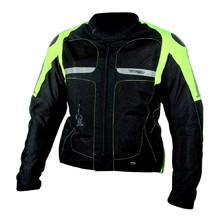 Summer Airbag Jacket Helite Vented Hivis - Green-Yellow