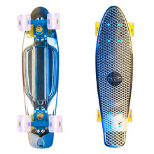 "Penny Board WORKER Mirra 400 22"" with Light Up Wheels"