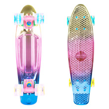 "Penny Board WORKER Mirra 500 22"" with Light Up Wheels"