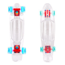 "Penny Board WORKER Transpy 100 22"" with Light Up Wheels"