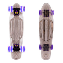 "Penny Board WORKER Transpy 200 22"" with Light Up Wheels"