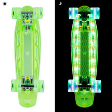 Light-Up Penny Board WORKER Lumy 200 22""