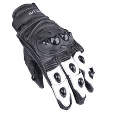 Moto Gloves W-TEC Radoon - Black-White