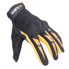 Moto Gloves W-TEC Hirshla GS-9044 - Orange-Black
