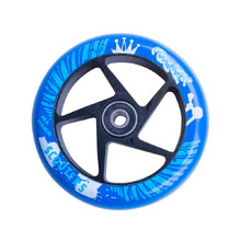 Spare Wheel for Scooter FOX PRO Raw 110 mm - Blue-Black