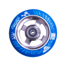 Spare Wheel for Scooter FOX PRO Raw 110 mm - Blue-Titan