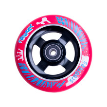 Spare Wheel for Scooter FOX PRO Raw 110 mm - Red-Black
