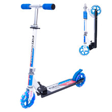 Scooter WORKER Cirky with Light-Up Wheels - Blue