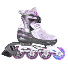 Rollerblades WORKER Perleta LED - with Light-Up Wheels