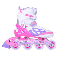 Adjustable Rollerblades WORKER Nubila - Pink-Purple-White