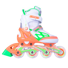 Adjustable Rollerblades WORKER Nubila - Orange-Green-White