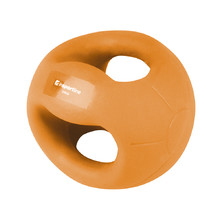 Medicine Ball with Grips inSPORTline Grab Me 2 kg