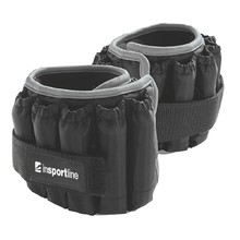 Adjustable Ankle Weights inSPORTline Ankler X 2x2.25 kg