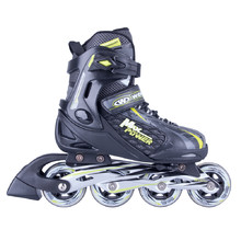 Adjustable Rollerblades WORKER Haasiko - Black