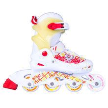 Adjustable Children's Rollerblades with Light-Up Wheels Action Joly