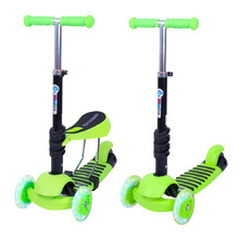 3-in-1 Scooter WORKER Nimbo - Green