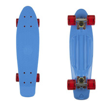 "Penny Board Fish Classic 22"" - Blue/Silver/Red"