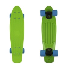 "Penny Board Fish Classic 22"" - Green-Black-Blue"
