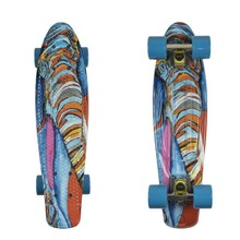 Penny Board ArtFish Elephant 22""