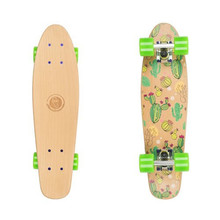Penny Board Fish Classic Wood - Cactus