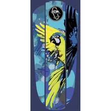"Penny Board Sticker Fish Classic 22"" - Blue Parrot"